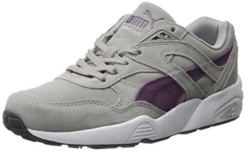 sports shoes 6a583 8d13d PUMA Men's R698 Allover Suede Trinomic Shoe