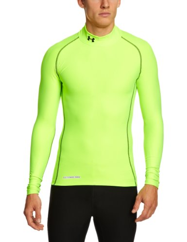 24207459773 Under Armour Men s ColdGear® Evo Long Sleeve Compression Mock – Hero ...