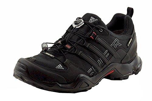 e642bd72e44f5 Adidas Men s Terrex Swift R GTX Black Vista Grey Power Red Hiking Sneakers  Shoes