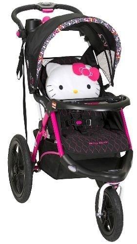Love kid Baby Trend Calypso Jogger - Hello Kitty Pin Wheel Jogging stroller  NEW
