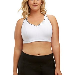 313bc4bdb20af Marika Curves Women s Gabriella Sports Bra (Plus Size) 38D White
