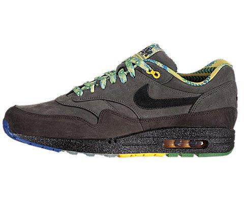 "huge selection of cdb39 1f56b Nike Air Max 1 BHM ""Black History Month"" 2012 Mens Running Shoes Midnight  Fog/Black-Dark Copper 521299-090"
