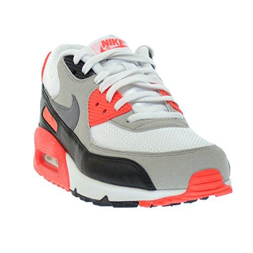 5006346dfeb5 Nike Air Max 90 OG Men s Running Shoes White Cool Grey-Natural Grey-Black  725233-106
