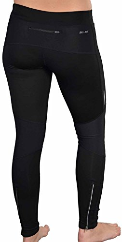 Nike Women S Dri Fit Element Thermal Running Tights Black