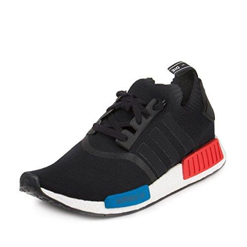 Adidas Mens Nmd Runner Pk Black Blue Red Fabric Hero Runner
