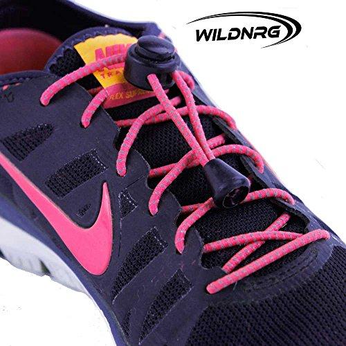 5659144ec Elastic Shoelaces – for Adults Kids- Best No Tie Reflective Speed ...