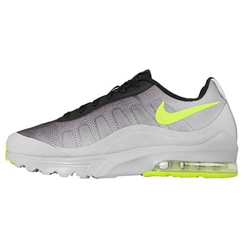 best loved 990bd 63e07 Nike Men s Air Max Invigor Print, WOLF GREY VOLT-BLACK-COOL GREY