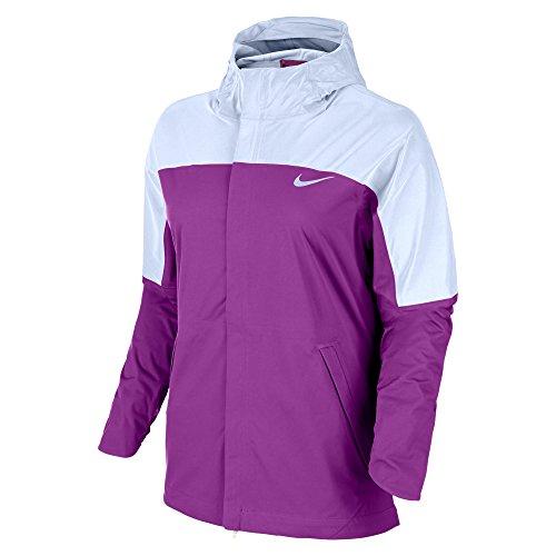 Nike Shield runner Flash Women s Running Jacket NEW 2016! PURPLE ... 16f39fdcc3