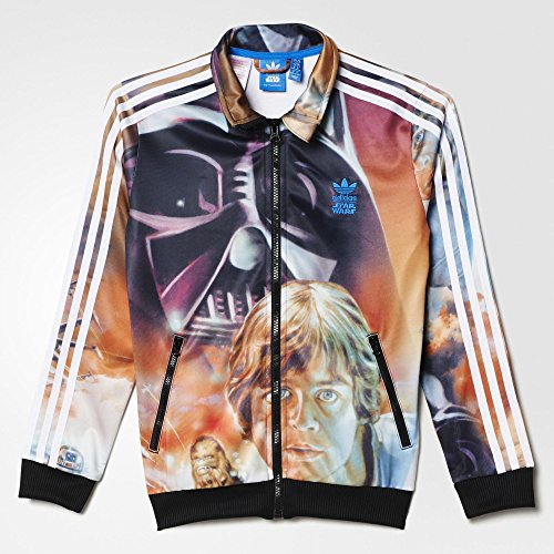 huge discount 50e37 1e411 Adidas Junior Star Wars Archive Firebird Track Jacket Large Hero