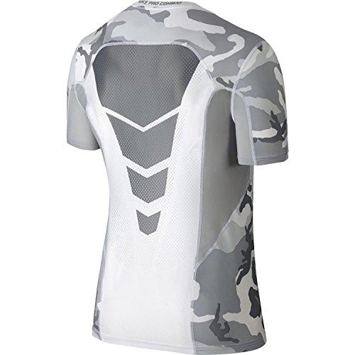 Receptor tribu España  Nike Men's Pro Combat Hypercool Woodland Fitted Compression Shirt ...