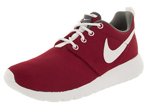 promo code b43f4 9a7b4 Nike Roshe Run Red White Kids Trainers - 599728-603