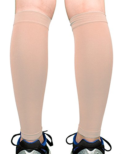 d401e52c38 Premium Calf Compression Sleeve 1 Pair 20-30mmHg Strong Calf Support ...