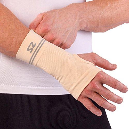 8e311d222c Zensah Compression Wrist Support – Wrist Sleeve for Wrist Pain, Carpal  Tunnel – Wrist Support – Wrist Brace