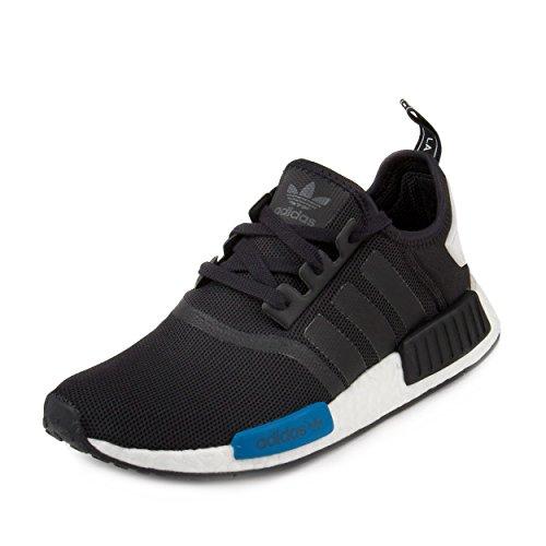 Adidas Originals Men's Primeknit NMD_R1 Running Shoes (Black)