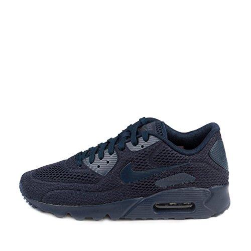 wholesale dealer 7b327 4581e Mens Nike Air Max 90 Ultra Breathe Navy
