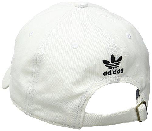 adidas Men's Originals Relaxed Strap Back Hat (Black