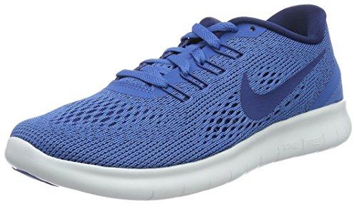 huge selection of 1f599 5de28 NIKE Women's Free RN Running Shoe Star Blue/Off White/Coastal Blue 8.5