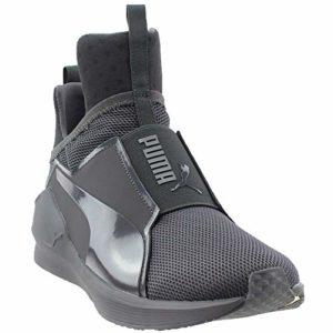 PUMA Men s Fierce Core Mono Ankle-High Leather Fashion Sneaker c49df1c2f